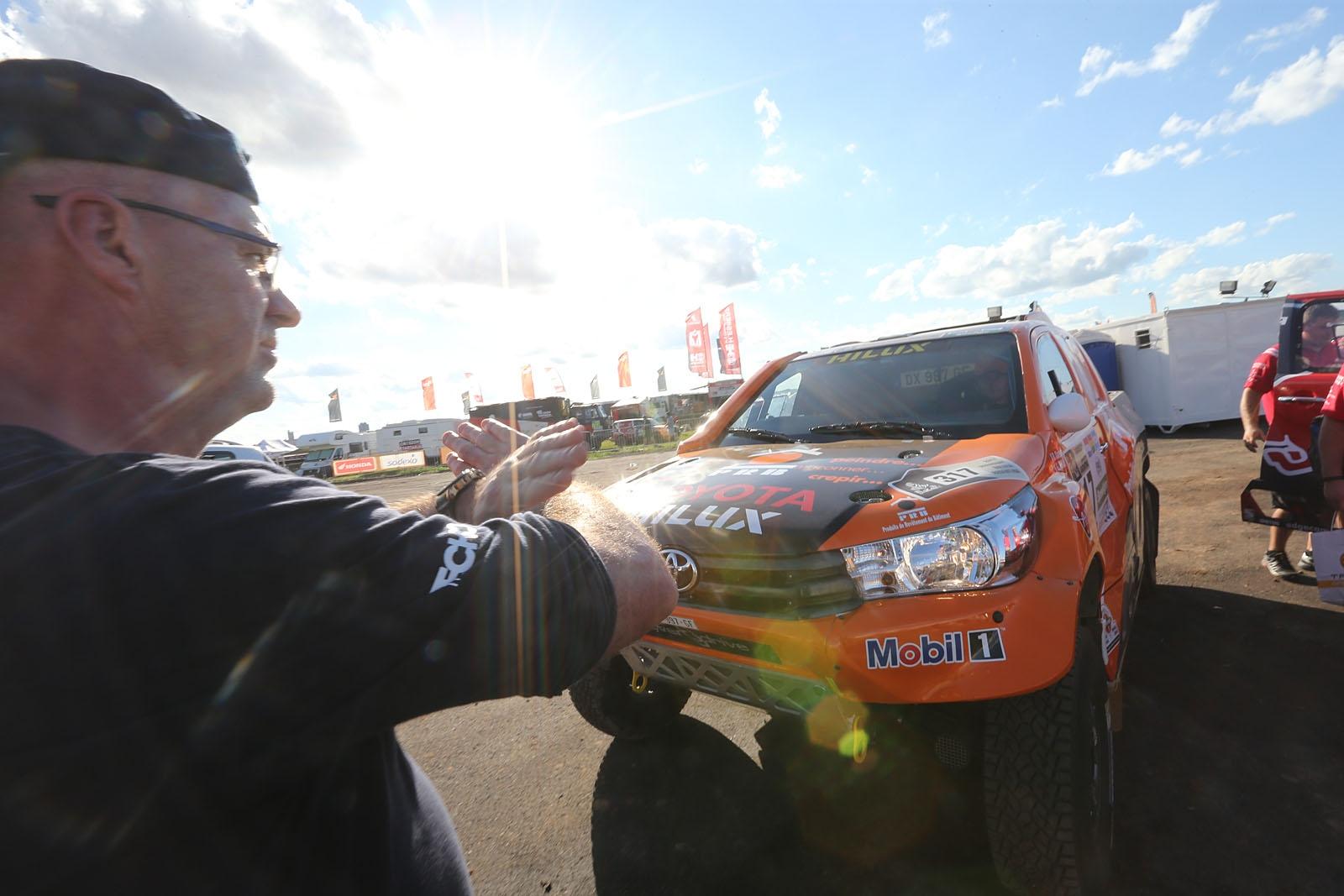 20161231:Asunsion-Paraguay:    TEAM CHABOT  READY FOR THE DAKAR 2017