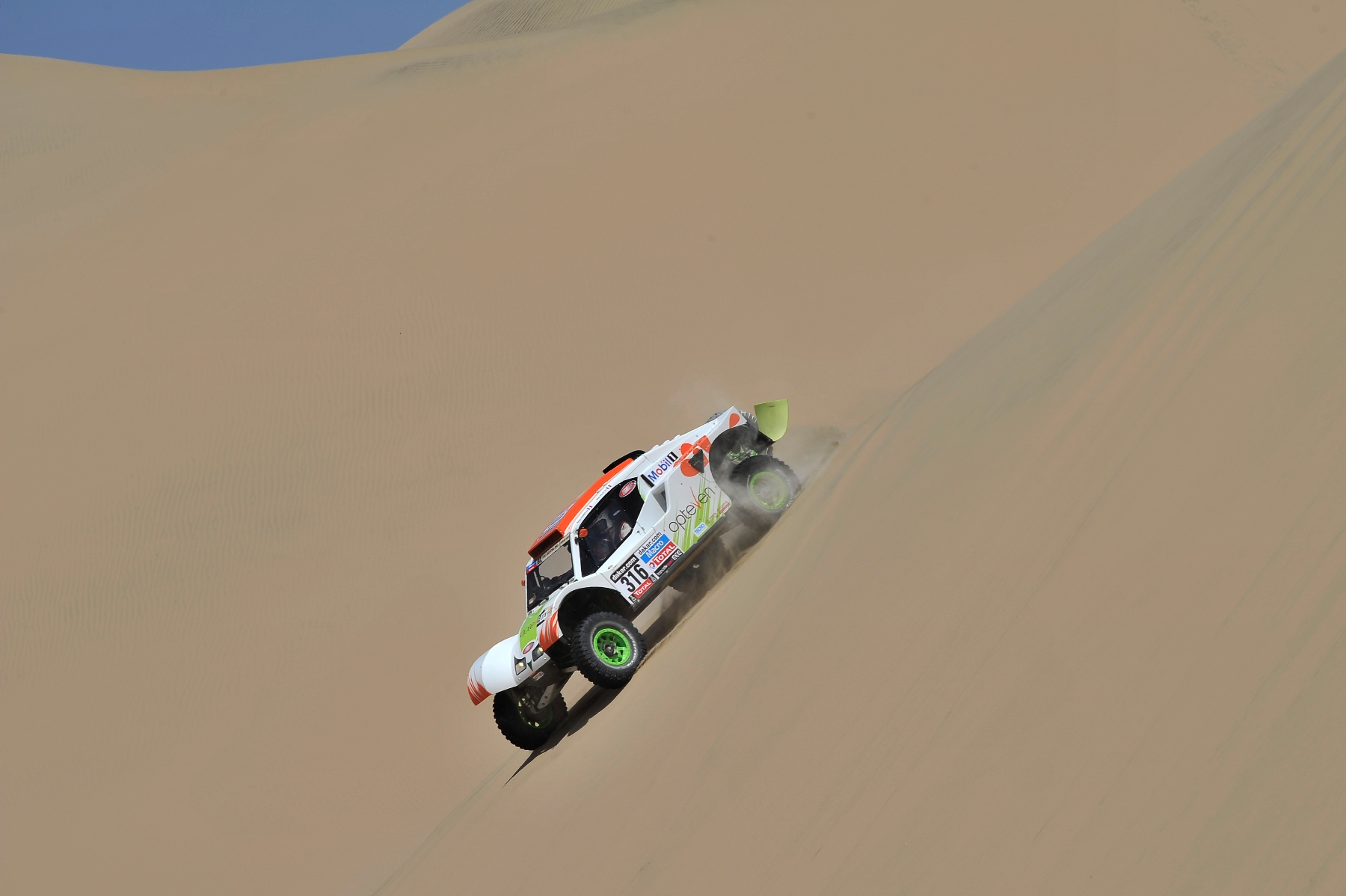 MOTORSPORT - DAKAR PERU CHILE ARGENTINA  2013 - STAGE 3 / ETAPE 3 - PISCO  (PER) TO NAZCA (PER) - 07/01/2013 - PHOTO : DPPI -