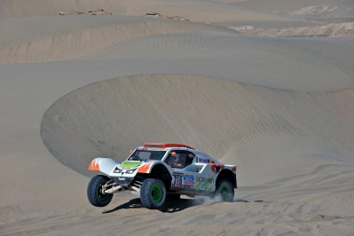 MOTORSPORT - DAKAR PERU CHILE ARGENTINA  2013 - STAGE 4 / ETAPE 4 - NAZCA (PER) TO AREQUIPA (PER) - 08/01/2013 - PHOTO : ERIC VARGIOLU / DPPI -  316 CHABOT RONAN ( FRANCE ) PILLOT GILLES ( FRANCE ) - SMG - TOYS MOTORS - SMG - ACTION