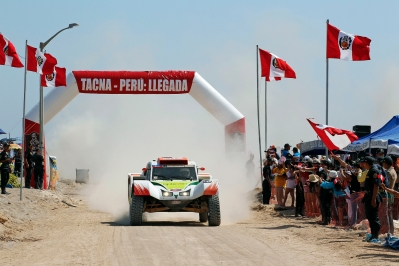 MOTORSPORT - DAKAR PERU CHILE ARGENTINA  2013 - STAGE 5 / ETAPE 5 - AREQUIPA (PER) TO ARICA (CHI) - 09/01/2013 - PHOTO : FREDERIC LE FLOC'H / DPPI -  316 CHABOT RONAN ( FRANCE ) PILLOT GILLES ( FRANCE ) - SMG - TOYS MOTORS - SMG - ACTION