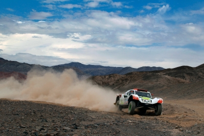 MOTORSPORT - DAKAR PERU CHILE ARGENTINA  2013 - STAGE 6 / ETAPE 6 - ARICA (CHI) TO CALAMA (CHI) - 10/01/2013 - PHOTO :  FREDERIC LE FLOC'H / DPPI -  316 CHABOT RONAN ( FRANCE ) PILLOT GILLES ( FRANCE ) - SMG - TOYS MOTORS - SMG - ACTION