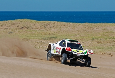 MOTORSPORT - DAKAR ARGENTINA CHILE  PERU 2012 - STAGE 1 START / DEPART - MAR DEL PLATA (ARG) TO SANTA ROSA DE LA PAMPA (ARG) - 01/01/2012 - PHOTO: FREDERIC LE FLOCH / DPPI