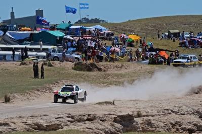 MOTORSPORT - DAKAR ARGENTINA CHILE  PERU 2012 - STAGE 1 START / DEPART - MAR DEL PLATA (ARG) TO SANTA ROSA DE LA PAMPA (ARG) - 01/01/2012 - PHOTO: ERIC VARGIOLU / DPPI