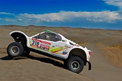 MOTORSPORT - DAKAR ARGENTINA CHILE  PERU 2012 - STAGE 2 - SANTA ROSA DE LA PAMPA (ARG) TO SAN RAFAEL (ARG) - 02/01/2012 - PHOTO: DPPI