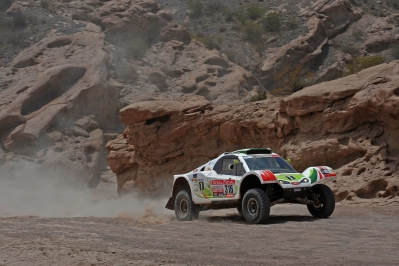 MOTORSPORT - DAKAR ARGENTINA CHILE PERU 2012 - STAGE 4 - SAN JUAN (ARG) TO CHILECITO (ARG) - 04/01/2012 - PHOTO: ERIC VARGIOLU / DPPI