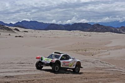 MOTORSPORT - DAKAR ARGENTINA CHILE PERU 2012 - STAGE 5 - CHILECITO (ARG) TO FIAMBALA (ARG) - 05/01/2012 - PHOTO:  ERIC VARGIOLU / DPPI