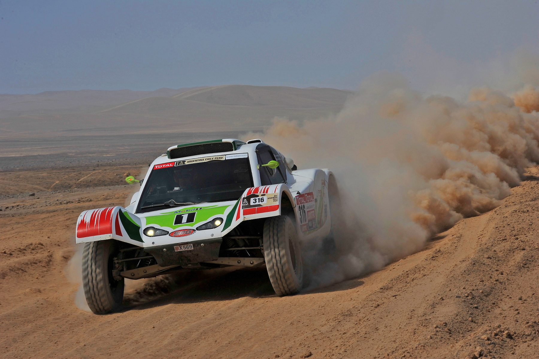 MOTORSPORT - DAKAR ARGENTINA CHILE PERU 2012 - STAGE 9 - ANTOFAGASTA (CHI) TO IQUIQUE (CHI) - 10/01/2012 - PHOTO: DPPI