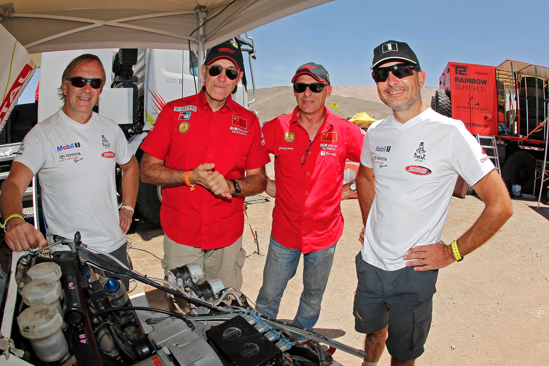 MOTORSPORT - DAKAR ARGENTINA CHILE PERU 2012 - REST DAY / JOUR DE REPOS - COPIAPO (CHI) - 08/01/2012 - PHOTO: FRANÇOIS FLAMAND / DPPI