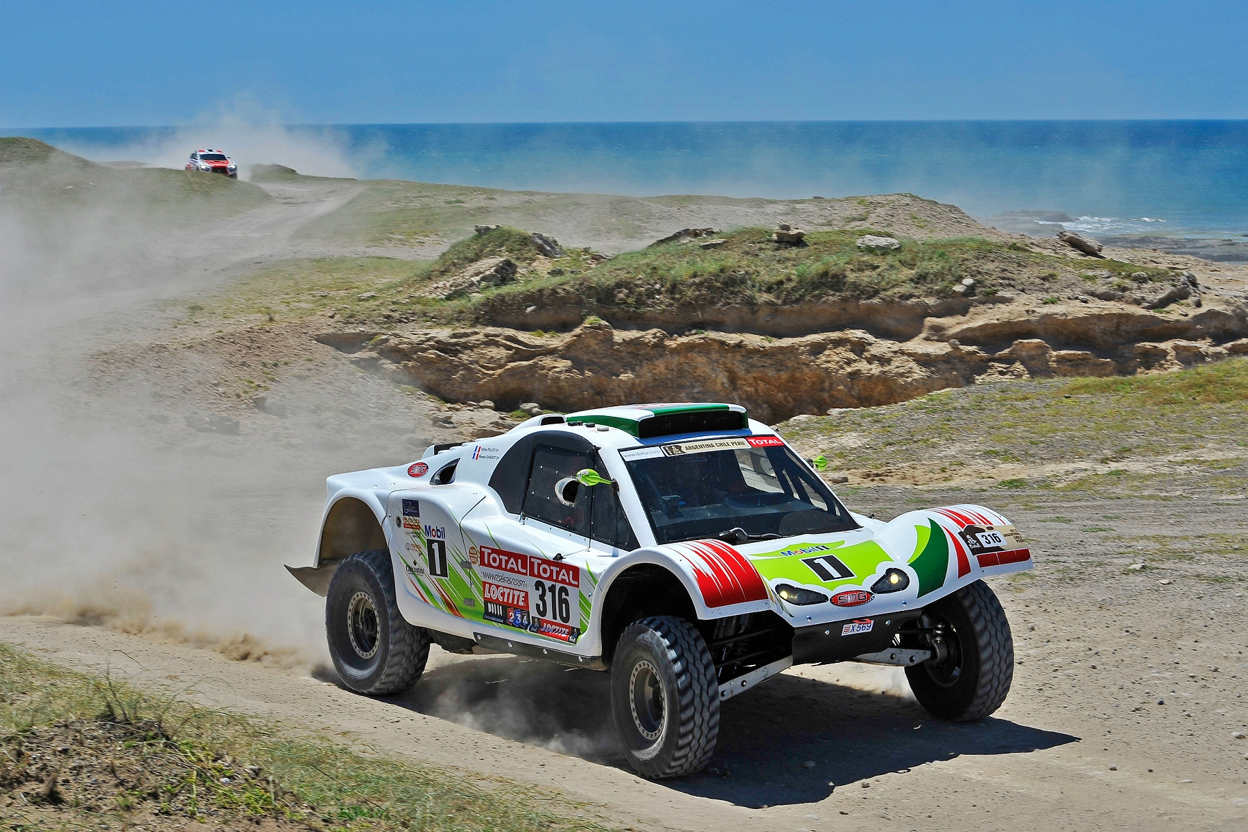MOTORSPORT - DAKAR ARGENTINA CHILE  PERU 2012 - STAGE 1 START / DEPART - MAR DEL PLATA (ARG) TO SANTA ROSA DE LA PAMPA (ARG) - 01/01/2012 - PHOTO: DPPI