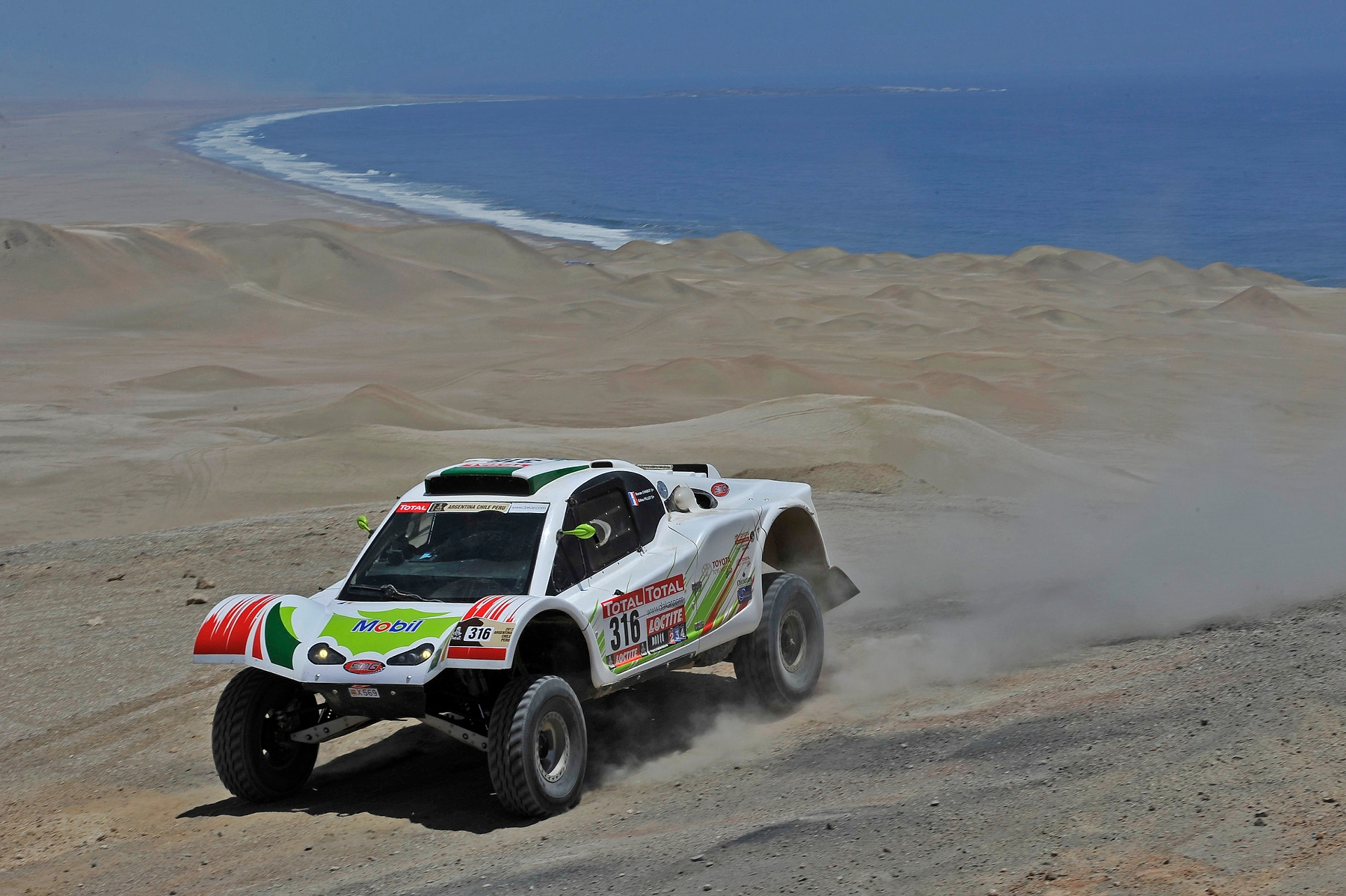 MOTORSPORT - DAKAR ARGENTINA CHILE PERU 2012 - STAGE 12 - AREQUIPA (PER) TO NASCA (PER) - 13/01/2012 - PHOTO: DPPI