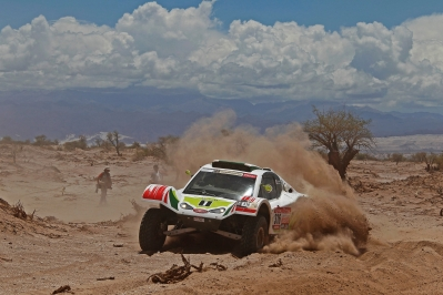 MOTORSPORT - DAKAR ARGENTINA CHILE PERU 2012 - STAGE 5 - CHILECITO (ARG) TO FIAMBALA (ARG) - 05/01/2012 - PHOTO:  FREDERIC LE FLOCH / DPPI