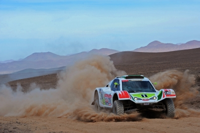 MOTORSPORT - DAKAR ARGENTINA CHILE PERU 2012 - STAGE 8 - COPIAPO (CHI) TO ANTOFAGASTA (CHI) - 09/01/2012 - PHOTO:  ERIC VARGIOLU / DPPI