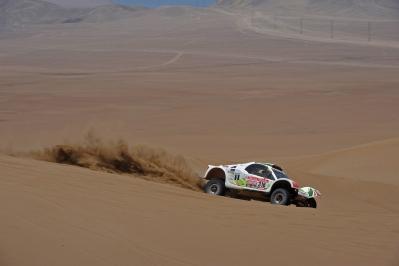 MOTORSPORT - DAKAR ARGENTINA CHILE PERU 2012 - STAGE 10 - IQUIQUE (CHI) TO ARICA (CHI) - 11/01/2012 - PHOTO: ERIC VARGIOLU / DPPI