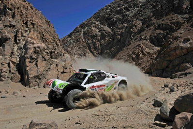 MOTORSPORT - DAKAR ARGENTINA CHILE PERU 2012 - STAGE 11 - ARICA (CHI) TO AREQUIPA (PER) - 12/01/2012 - PHOTO: DPPI