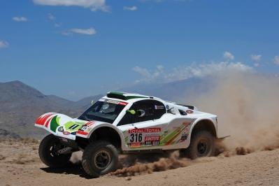 MOTORSPORT - DAKAR ARGENTINA CHILE PERU 2012 - STAGE 3 - SAN RAFAEL (ARG) TO SAN JUAN (ARG)  - 03/01/2012 - PHOTO: ERIC VARGIOLU / DPPI