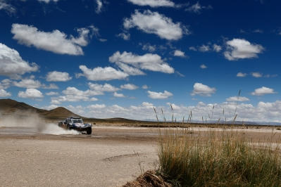 MOTORSPORT - DAKAR ARGENTINA BOLIVIA CHILE  2014 - STAGE 7 / ETAPE 7 - SALTA (ARG) - SALTA (ARG) - 12/01/2014 - PHOTO BENJAMIN CREMEL / DPPI - 312CHABOT RONAN (FRA) / PILLOT GILLES - SMG - ACTION