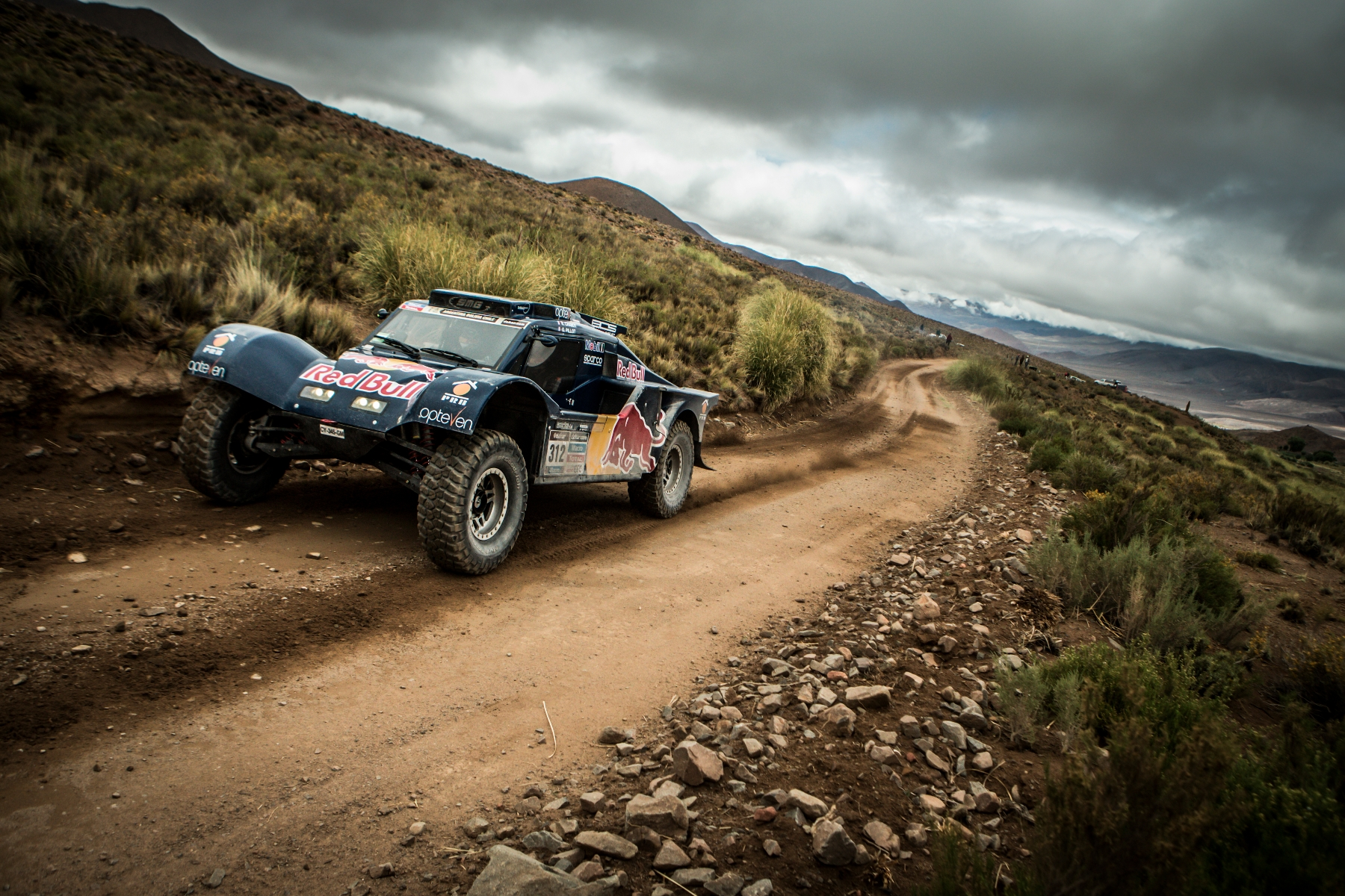 Chabot Ronan and  Pillot Gilles (co-driver) race during the 7th stage of Dakar Rally from Salta to Salta, Argentina on January 12th, 2014