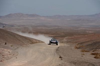 MOTORSPORT - DAKAR ARGENTINA BOLIVIA CHILE  2014 - STAGE 8 / ETAPE 8 - SALTA - CALAMA (CHI) - 13/01/2014 - PHOTO GIGI SOLDANO / DPPI - 312CHABOT RONAN (FRA) / PILLOT GILLES - SMG - ACTION