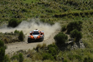 320 CHABOT Ronan (Fra) PILLOT Gilles (Fra) Smg action during the Dakar 2015 Argentina Bolivia Chile, Stage 2 / Etape 2 -  Villa Carlos Paz to San Juan on January 5th 2015 at Villa Carlos Paz, Argentina. Photo Eric Vargiolu / DPPI