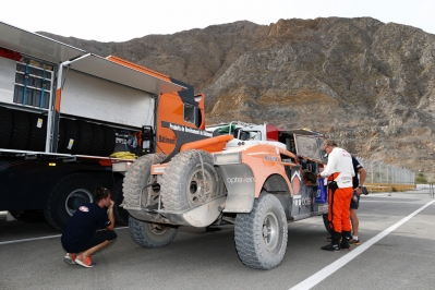 320 CHABOT Ronan (Fra) PILLOT Gilles (Fra) Smg action during the Dakar 2015 Argentina Bolivia Chile, Stage 2 / Etape 2 -  Villa Carlos Paz to San Juan on January 5th 2015 at Villa Carlos Paz, Argentina. Photo Florent Gooden / DPPI
