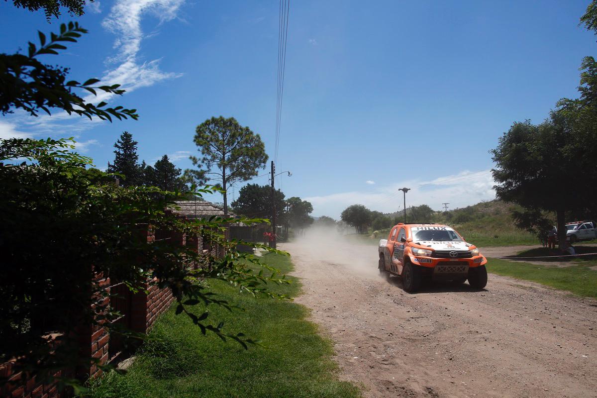 316 CHABOT Ronan (fra) PILLOT Gilles (fra) TOYOTA action during the Dakar 2016 Argentina,  Bolivia, Etape 12 / Stage 12,  San Juan - Villa Carlos Paz,  from  January 15, 2016 - Photo Frederic Le Floc'h / DPPI