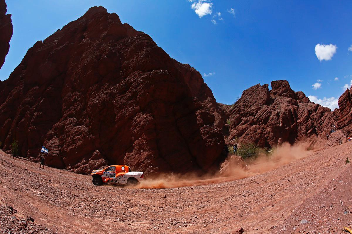 316 CHABOT Ronan (fra) PILLOT Gilles (fra) TOYOTA action during the Dakar 2016 Argentina,  Bolivia, Etape 8 / Stage 8, Salta - Belen,  from  January 11, 2016 - Photo Frederic Le Floc'h / DPPI