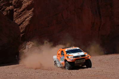 316 CHABOT Ronan (fra) PILLOT Gilles (fra) TOYOTA action during the Dakar 2016 Argentina,  Bolivia, Etape 8 / Stage 8, Salta - Belen,  from  January 11, 2016 - Photo Eric Vargiolu / DPPI