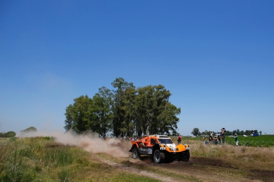 320 CHABOT Ronan (Fra) PILLOT Gilles (Fra) Smg action during the Dakar 2015 Argentina Bolivia Chile, Stage 1 / Etape 1 -  Buenos Aires to Villa Carlos Paz on January 4th 2015 at Buenos Aires, Argentina. Photo Frederic Le Floch / DPPI