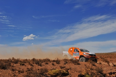 316 CHABOT Ronan (fra) PILLOT Gilles (fra) TOYOTA action during the Dakar 2016 Argentina,  Bolivia, Etape 6 - Stage 6, Uyuni - Uyuni,  from  January 8, 2016 - Photo DPPI
