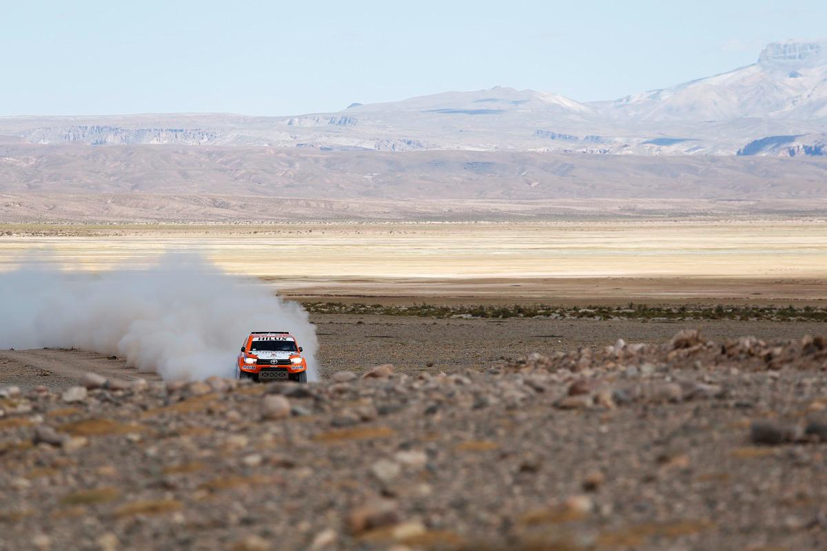 316 CHABOT Ronan (fra) PILLOT Gilles (fra) TOYOTA action during the Dakar 2016 Argentina,  Bolivia, Etape 7 - Stage 7, Uyuni - Salta,  from  January 9, 2016 - Photo Florent Gooden / DPPI