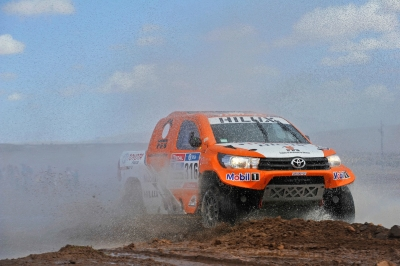 316 CHABOT Ronan (fra) PILLOT Gilles (fra) TOYOTA action during the Dakar 2016 Argentina,  Bolivia, Etape 7 - Stage 7, Uyuni - Salta,  from  January 9, 2016 - Photo DPPI