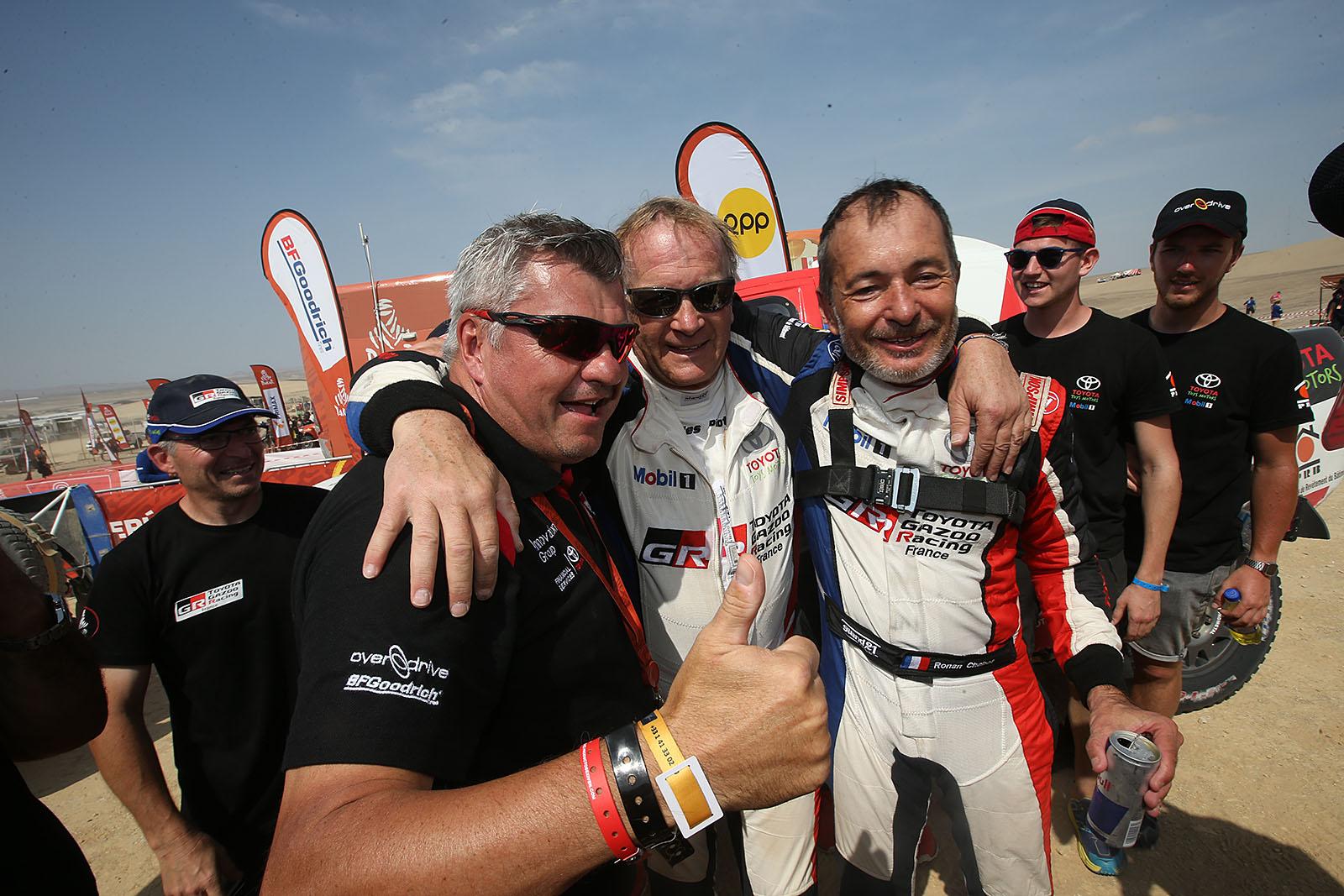 20190117:Pisco -Peru: finish in Pisco of the Dakar Rally-100% Peru. Thursday 17 Januari near Pisco-Peru