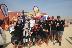 20190117:Pisco -Peru: finish in Pisco of the Dakar Rally-100% Peru. Thursday 17 Januari near Pisco-Peru