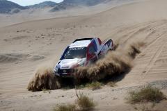 2020 DAKAR RALLY TEST JEDDAH Chabot Toyota Hiliux
