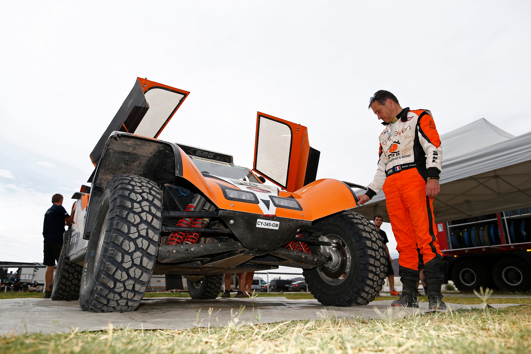 CHABOT Ronan (Fra) Smg ambiance during the Dakar 2015 Argentina Bolivia Chile, Stage 3 / Etape 3 -  San Juan to Chilecito on January 6th 2015 at San Juan, Argentina. Photo Florent Gooden / DPPI