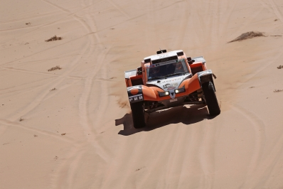 320 CHABOT Ronan (Fra) PILLOT Gilles (Fra) Smg action during the Dakar 2015 Argentina Bolivia Chile, Stage 4 / Etape 4 -  Chilecito to Copiapo on January 7th 2015 at Chilecito, Argentina. Photo Francois Flamand / DPPI