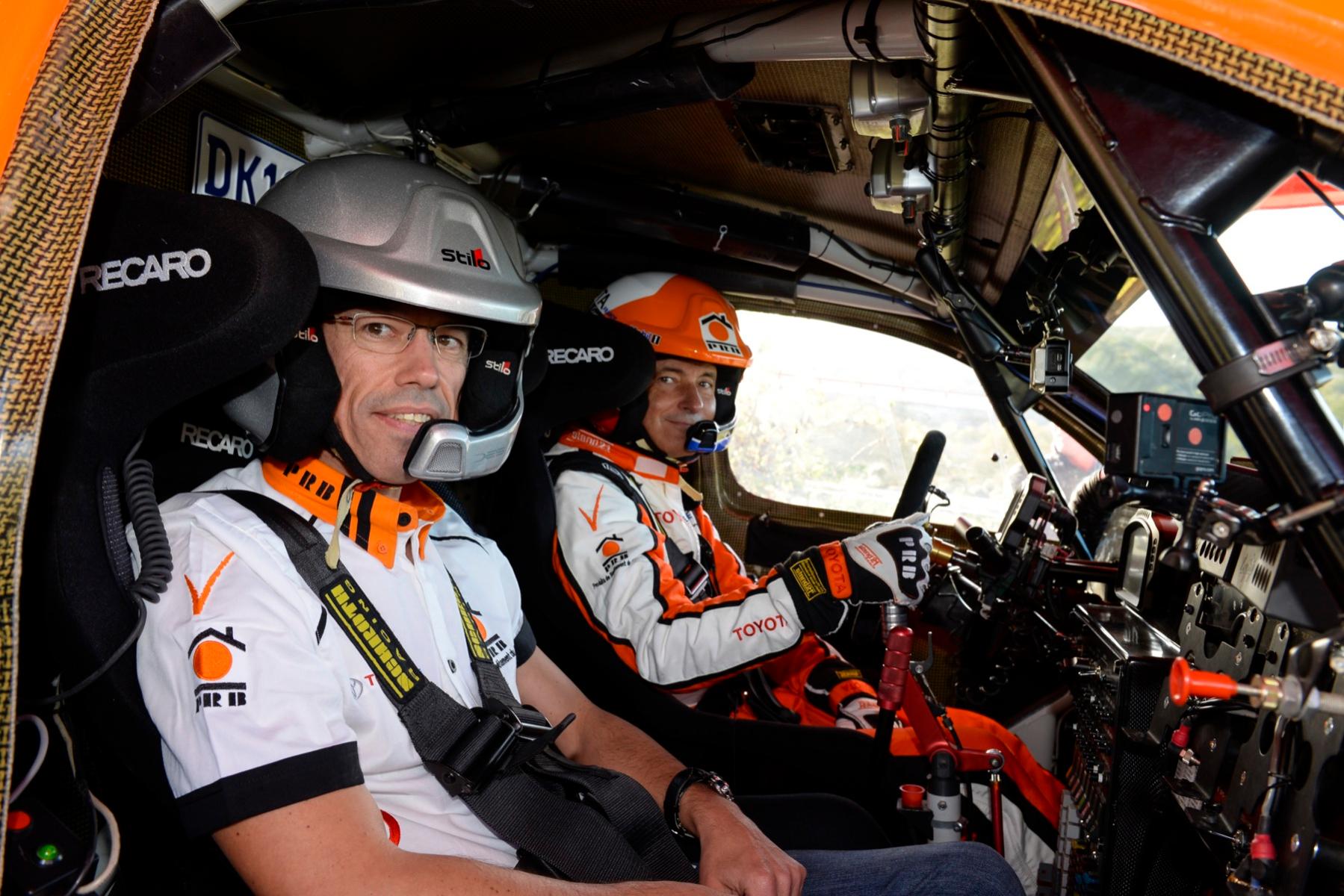 Toyota Hilux Dakar 2016