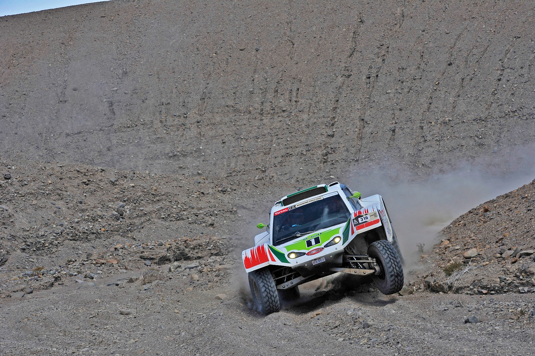 MOTORSPORT - DAKAR ARGENTINA CHILE PERU 2012 - STAGE 8 - COPIAPO (CHI) TO ANTOFAGASTA (CHI) - 09/01/2012 - PHOTO: DPPI