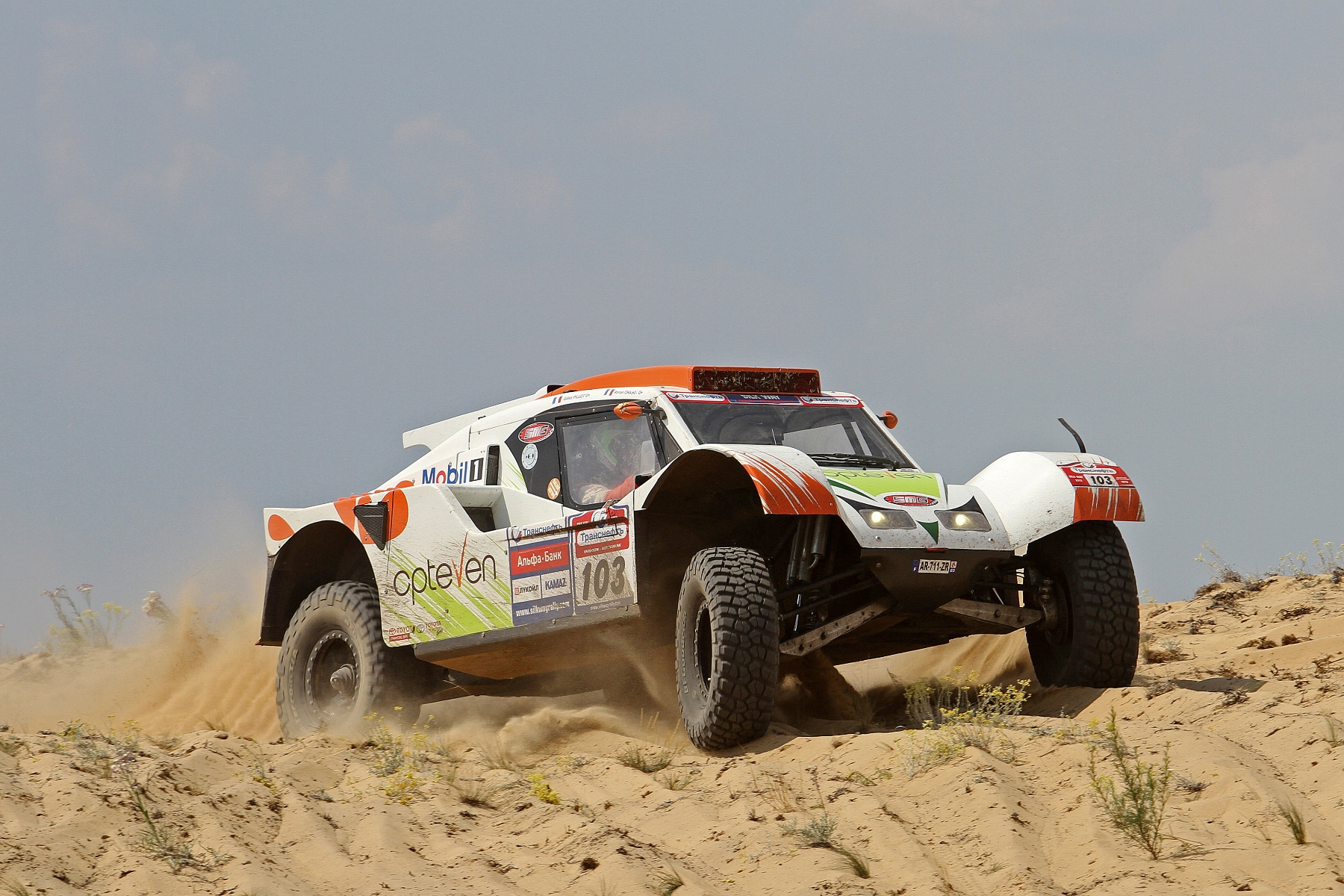 MOTORSPORT - SILK WAY RALLY (RUS) - MOSCOW TO SOCHI -  03 TO 14/07/2013 - PHOTO : DPPI -
