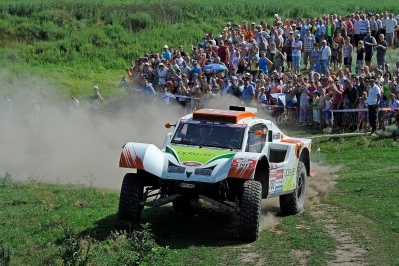 MOTORSPORT - SILK WAY RALLY (RUS) - MOSCOW TO SOCHI -  03 TO 14/07/2013 - PHOTO : HUGO VARGIOLU / DPPI -