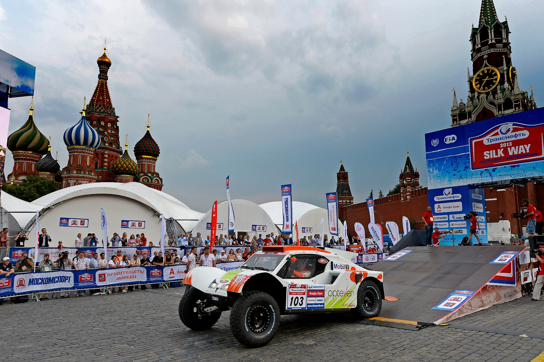MOTORSPORT - DAKAR SERIES 2013 - SILK WAY RALLY (RUS) - MOSCOW TO SOCHI -  03 TO 14/07/2013 - PHOTO : ERIC VARGIOLU / DPPI -