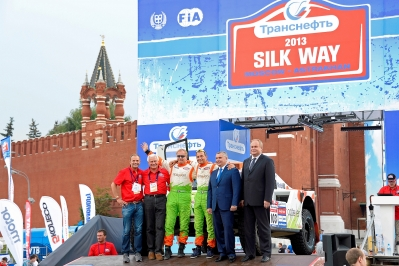 MOTORSPORT - DAKAR SERIES 2013 - SILK WAY RALLY (RUS) - MOSCOW TO SOCHI -  03 TO 14/07/2013 - PHOTO : ERIC VARGIOLU / DPPI -