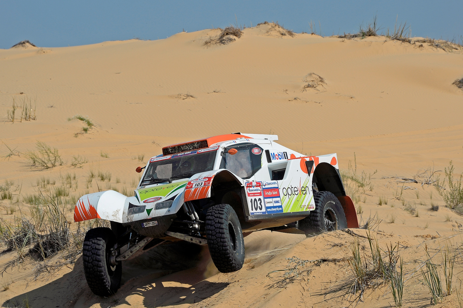 MOTORSPORT - SILK WAY RALLY (RUS) - MOSCOW TO SOCHI -  03 TO 14/07/2013 - PHOTO : ERIC VARGIOLU / DPPI -