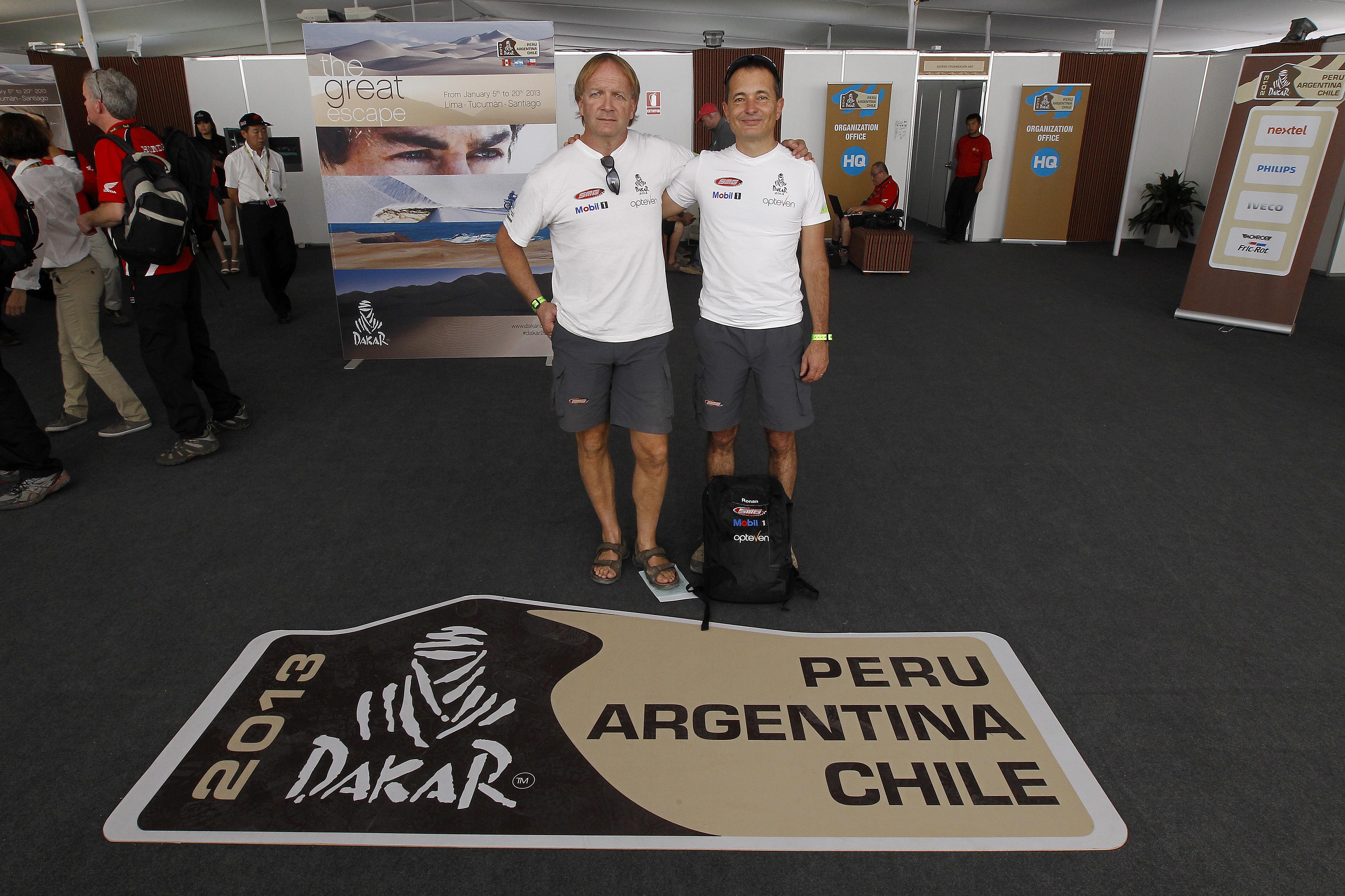 Dakar 2013 – Le point de Ronan Chabot a mi-parcours
