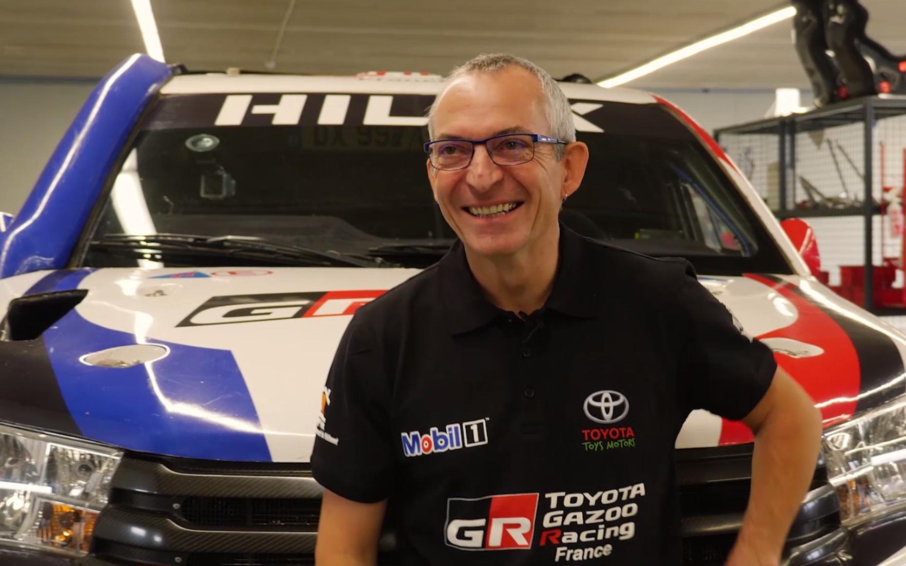 Dakar 2019 - Interview de Thierry Henriot