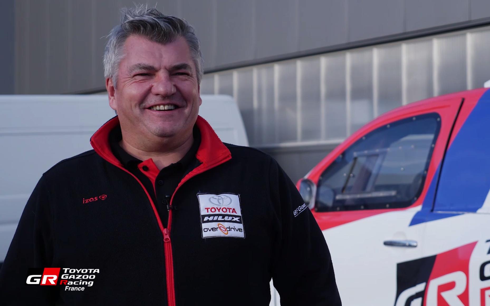 Dakar 2019 - Interview de Jean-Marc Fortin