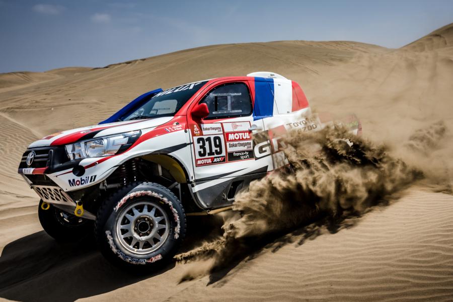 Dakar 2019 - Prêts à croquer leur part du désert !