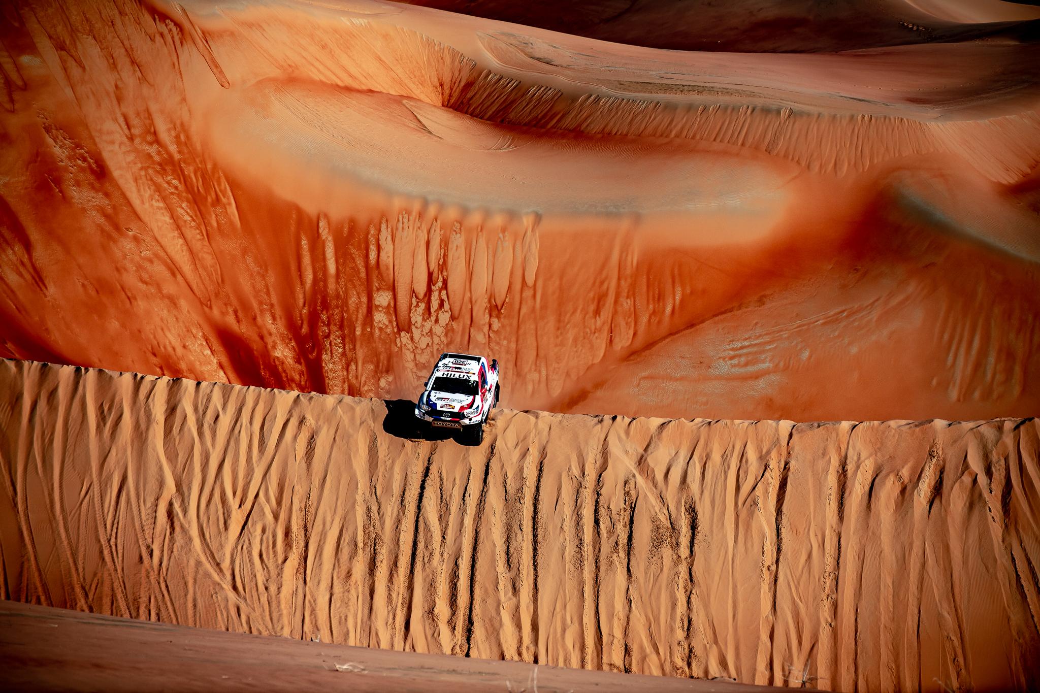 Dakar 2020 – Etape 11 – Une journée 100% sable