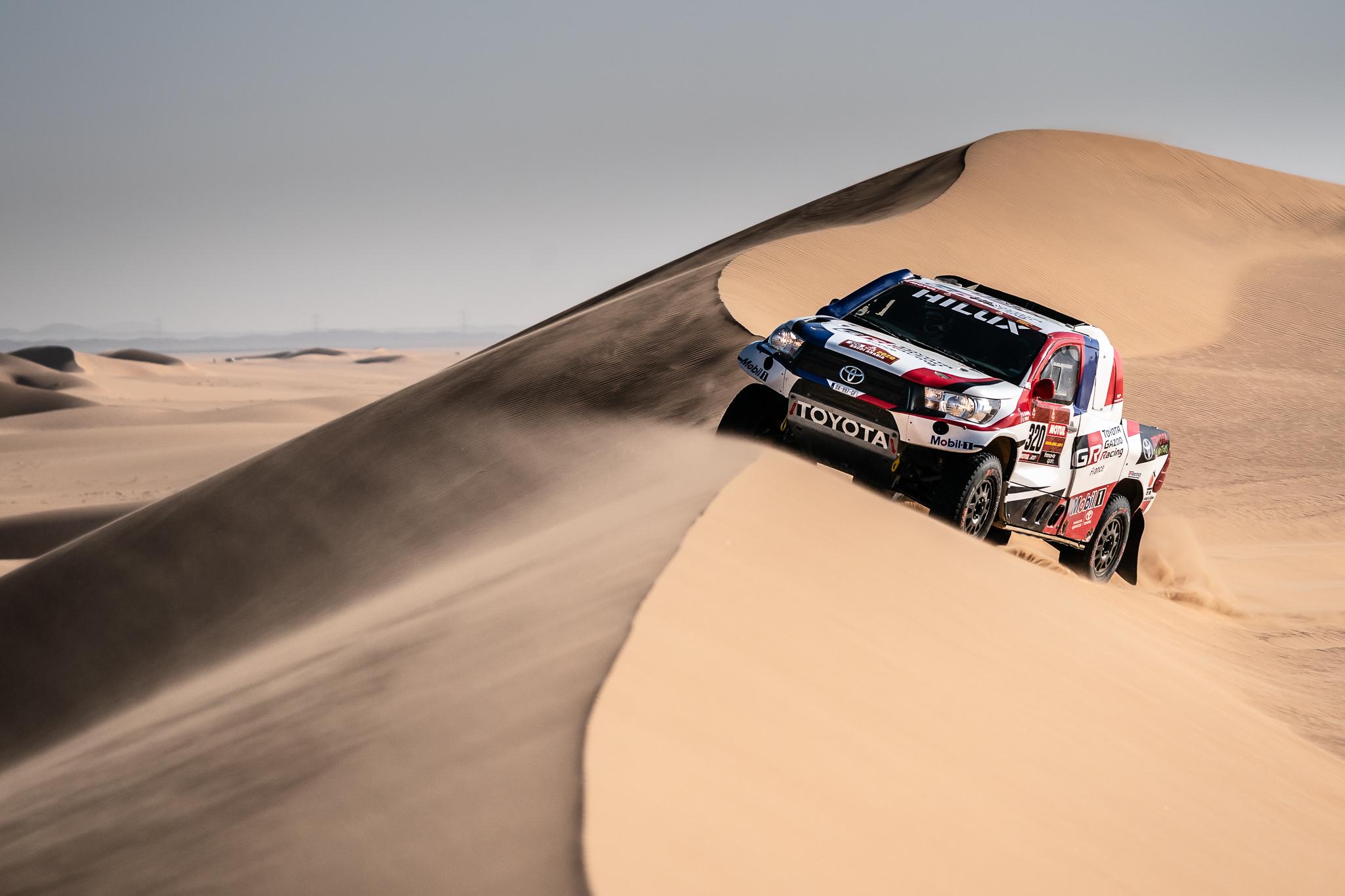 Dakar 2020 – Etape 8 - En pleine poussière !