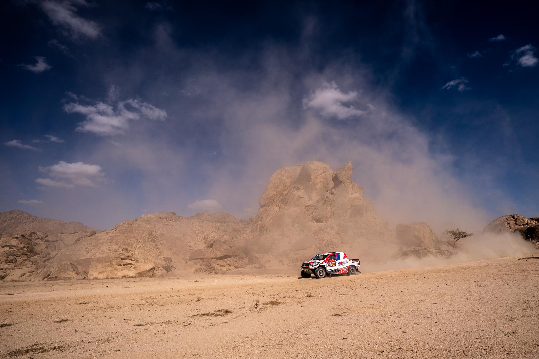 Dakar 2020 - Etape 4 - La montée en puissance